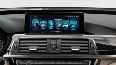 BMW 3 Series GT - screen