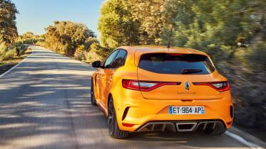 Renault Megane R.S. - rear tracking