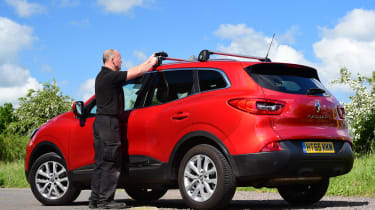 Renault Kadjar - long term roof bars