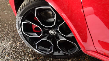 Skoda Octavia vRS Challenge - wheel