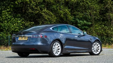 Tesla Model S Long Range - rear static