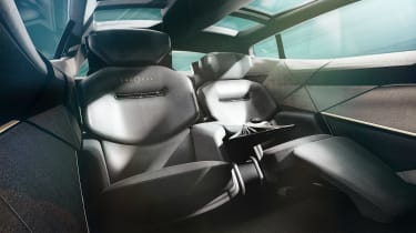Lagonda All-Terrain concept - rear seats