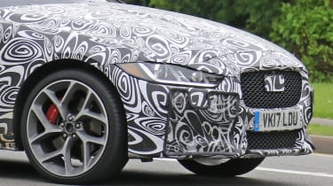 Jaguar XE SVR spy shot