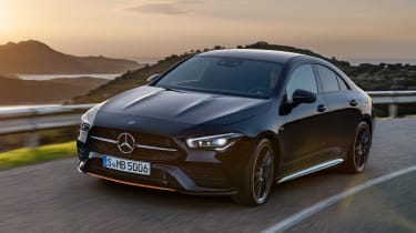 Mercedes CLA - front action