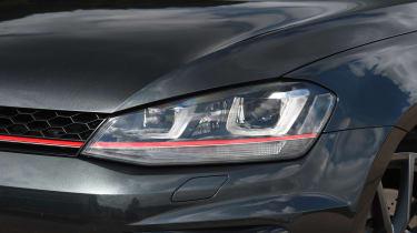 Volkswagen Golf GTI Clubsport S - front light detail