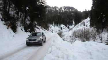 Skoda Karoq road trip - winter driving