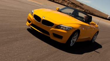 BMW Z4 sDrive28i front tracking