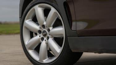 MINI Clubman - wheel detail