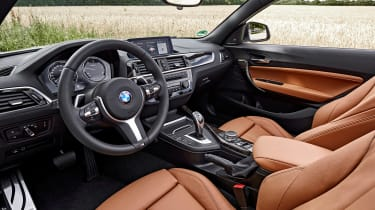 BMW 220d Convertible - interior