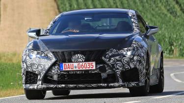 Lexus RC F GT - front
