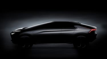 Mitsubishi e-Evolution Concept side