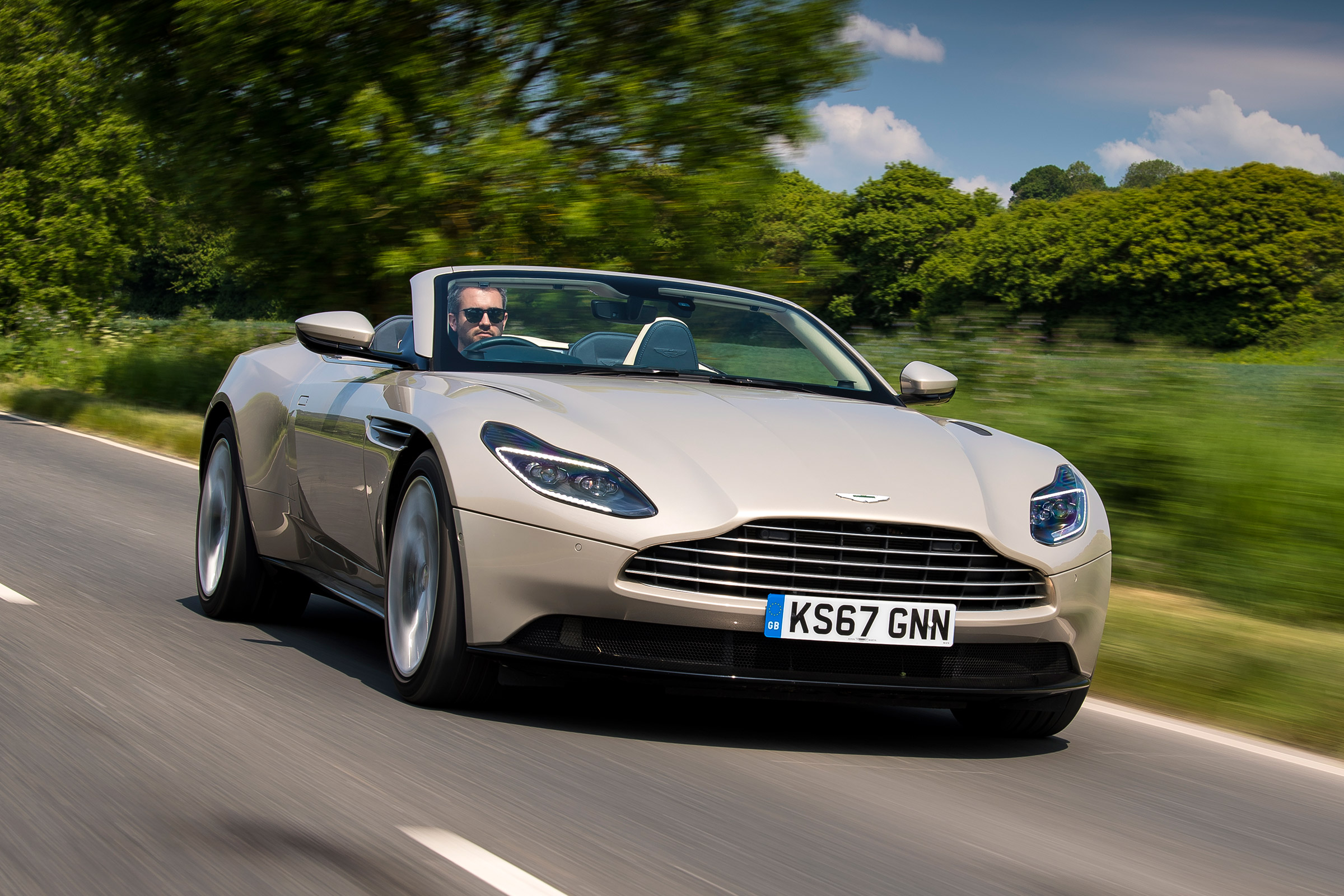 New Aston Martin Db11 Volante 2018 Review Auto Express