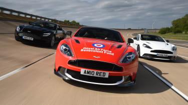 Red Arrows Aston Martin - Millbrook