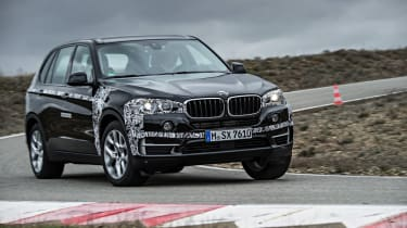 BMW X5 eDrive front action