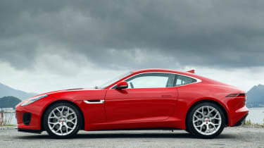 Jaguar F-Type 4-cyl review - side