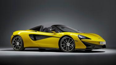 McLaren 570S Spider - front