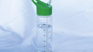 Morrisons Green Straw Flip Bottle