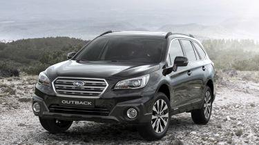 Subaru Outback Black & Ivory