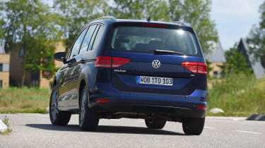 Volkswagen Touran - rear cornering (left-hand drive)