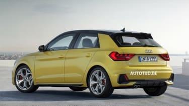 Audi A1 - leak rear