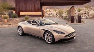 Aston Martin DB11 Volante - front/side static