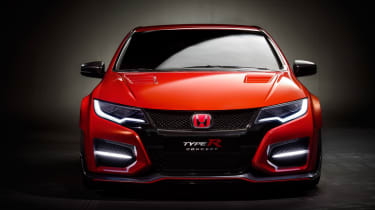 New Honda Civic Type R concept front