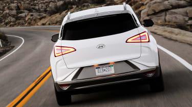 Hyundai NEXO fuel cell SUV - rear