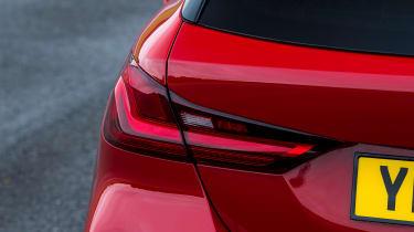 BMW 120d - rear light