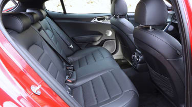 Kia Stinger - rear seats