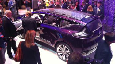 Renault Initiale Paris concept rear