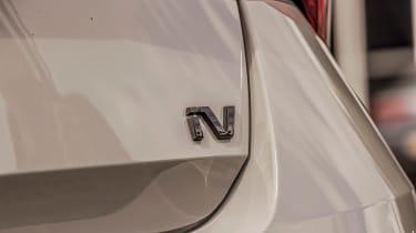 Skoda Octavia vRS iV Mk4 - rear iV badge