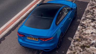 Jaguar XE Reims Edition - rear above