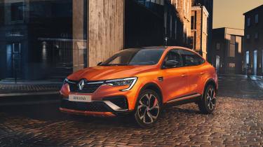Renault Arkana - front static
