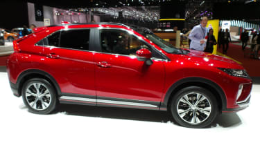 Mitsubishi Eclipse Cross SUV - Geneva side