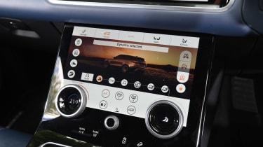 Range Rover Velar - centre console