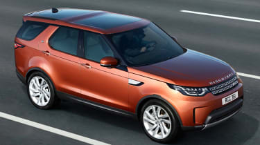 Land Rover Discovery 2017 - official road