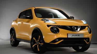 Nissan Juke 2014 nose