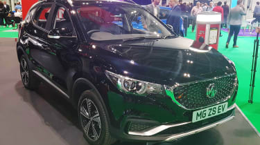MG ZS EV - London Motor Show front