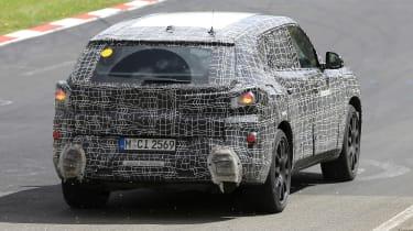 BMW X8 - spyshot 5
