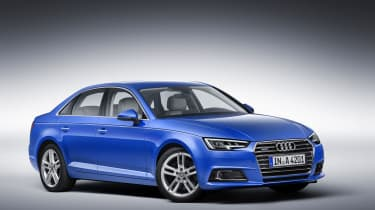 Audi A4 saloon front