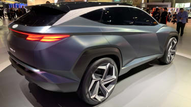 Hyundai Vision T - LA Motor Show rear