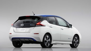New Nissan Leaf - rear static