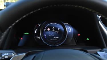 Lexus es 300h dashboard instruments