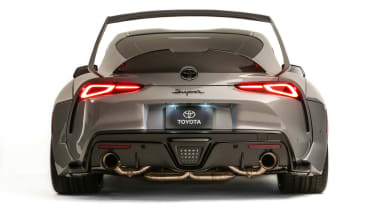 Toyota Supra HyperBoost Edition - full rear