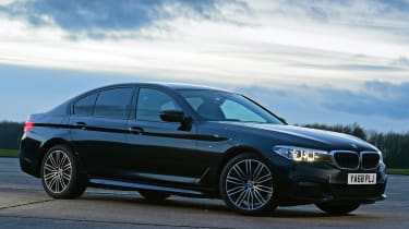 BMW 5 Series - front 3/4 static