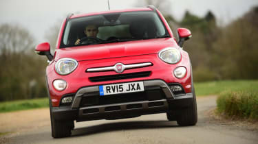 Used Fiat 500X - front cornering