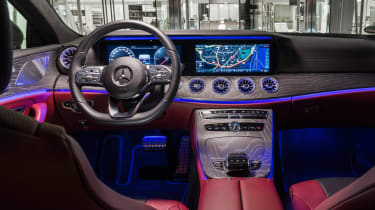 Mercedes CLS 400 d - dash