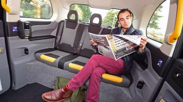 LEVC TX London Taxi - rear