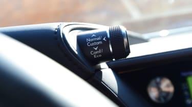 Lexus LS 500h 2018 review - control