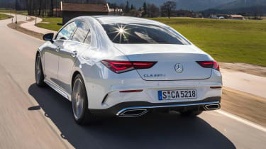 Mercedes CLA - rear
